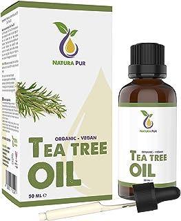 comprar comparacion NATURA PUR Aceite Esencial de Arbol de Te 50ml - 100% orgánico y puro para cara y cuerpo - Tea Tree Oil para Tratamientos ...