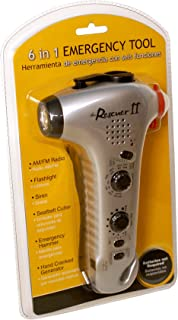 Be Smart Get Prepared Total Resources International 6 in 1 Emergency Radio and Flashlight