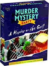 Murder Mystery Party Games - A Murder on the Grill, Host Your Own Cookout Murder Mystery Dinner for 8 Adult Players, Solve the Case with Crime Scene Clues, 18 Years and Up