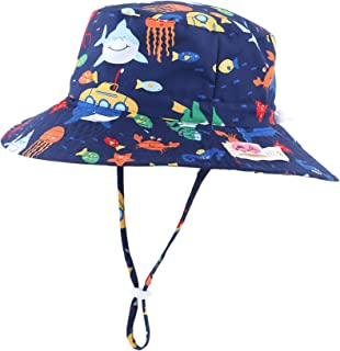 Home Prefer Kids UPF50+ Safari Sun Hat Breathable Bucket Hat Summer Play Hat