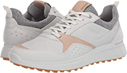 에코 남성 골프화 ECCO Golf S-Casual Hydromax,White/Oak