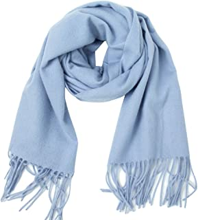 Dolcevida Women Men Fashion Scarf Soft Warm Shawl Solid Color Large Wraps