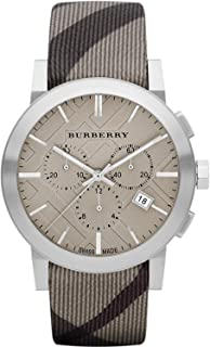 Women's BU9358 The City Swiss Chronograph Smoked Check Strap Watch