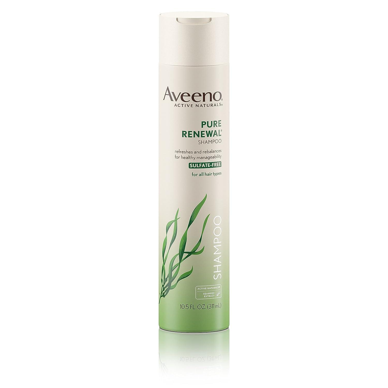 New Free Shipping Aveeno Pure Renewal Hair Moisturizing Seaw with Max 68% OFF Shampoo