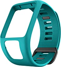 ANCOOL Compatible with Spark 3 Watch Bands Silicone Watch Straps Replacement for Runner 2 3,Spark 3, Golfer 2,Adventurer Smartwatches (Rock Blue)