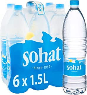 Sohat Natural Mineral Water 6 x 1.5L(Pack of 6)