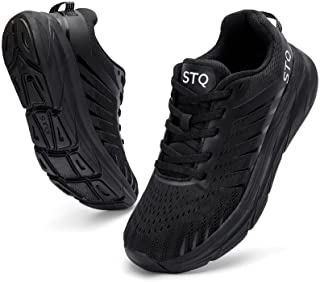 Running Shoes for Women Cushion Breathable Walking Tennis Sneakers with Arch Support