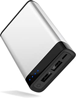 TalkWorks Portable Charger Power Bank USB Battery Pack 6000 mAh - External Cell Phone Backup Supply for Apple iPhone 12, 1...