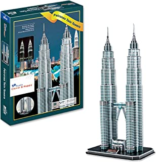 INSTEN Petronas Twin Towers 3D Puzzle (86 pcs)