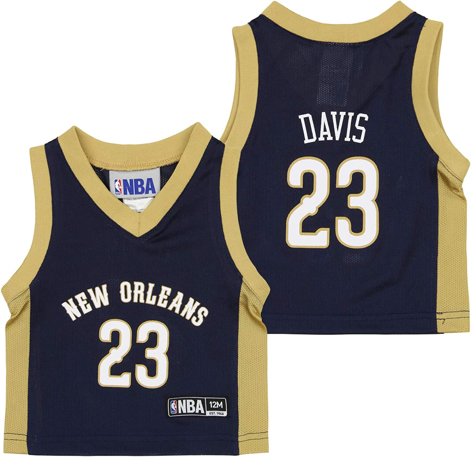 Outerstuff overseas NBA Challenge the lowest price Anthony Davis New Orleans To Pelicans and Infants