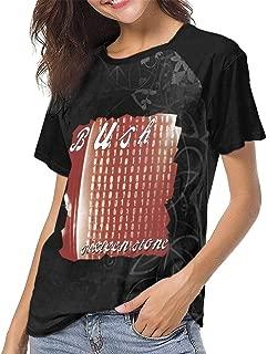 Bush Sixteen Stone Womens Short Sleeve Raglan Baseball Tshirts Black