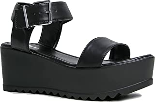 Best buckle platform sandals Reviews