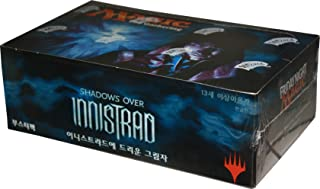 KOREAN Magic The Gathering MTG Shadows Over Innistrad Booster Box - 36 packs of 15 cards each