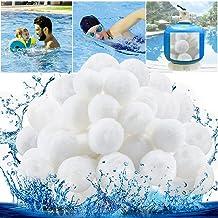Tycoonomo Bolas de filtro de 500 g, repuesto de arena de cuarzo, 18 kg, bolas de filtro duraderas para piscina filtro de arena