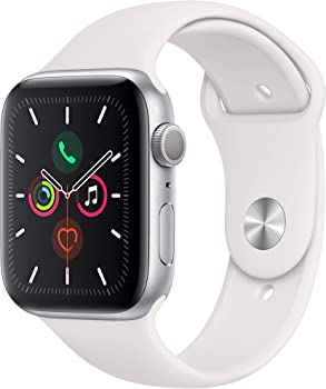 Apple Watch Series 5 44mm GPS Smartwatch (White)