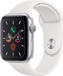 Apple Watch Series 5 (GPS, 44mm) - Silver Aluminum Case...