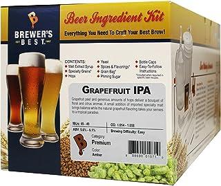 Brewer's Best - Home Brew Beer Ingredient Kit (5 gallon), (Grapefruti IPA)