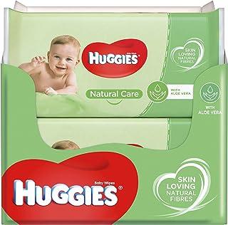 Huggies baby billendoekjes - Natural Care - 560 doekjes - Voordeelverpakking