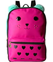 Berry PVC Kitch Large Backpack