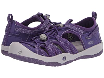 Keen Kids Moxie Sandal (Little Kid/Big Kid) (Royal Purple/Vapor) Girl