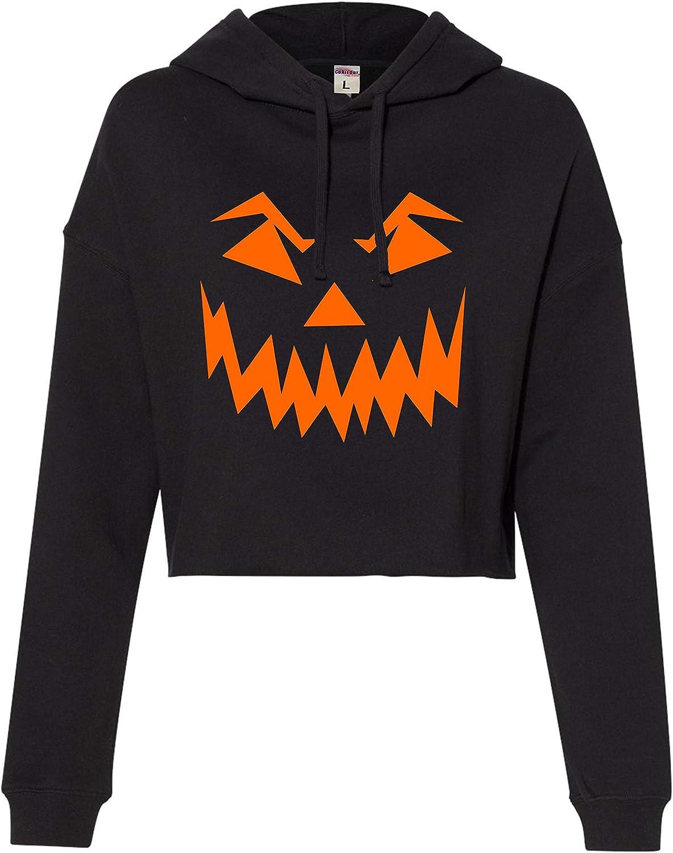 Jack/'O Halloween Pumpkin Off the Shoulder Oversized Sweatshirts Cool Gifts for Halloween Horror