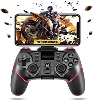 DDDF Bluetooth Mobile Gaming Controller Wireless Android Gamepad Joystick Compatible for iOS/Android Phone/PC Windows/Tablet/Smart TV/TV Box/ PS3