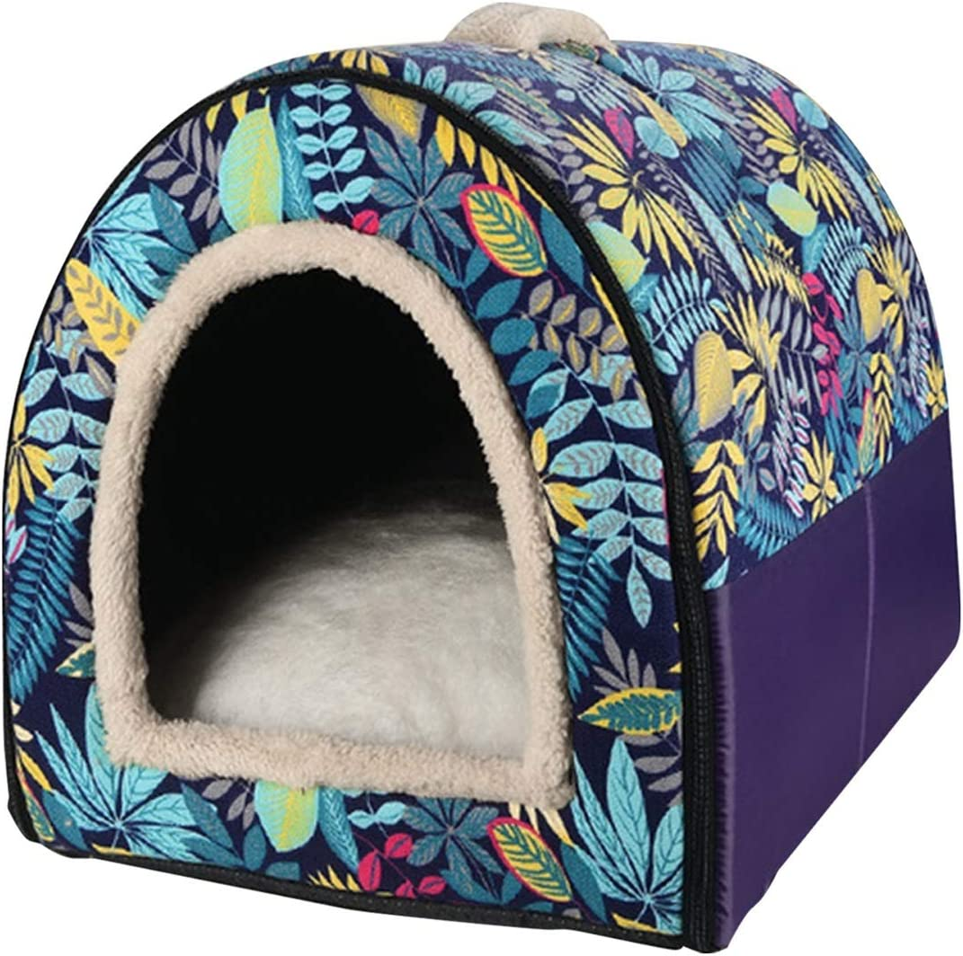 Jgzwlkj Cat nest Winter Pet Kennel Foldable House Non-S Dog Direct store Warm Ranking TOP7