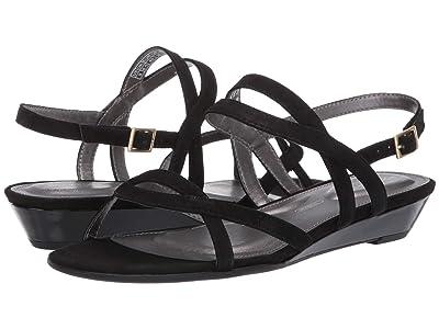 Rockport Total Motion Zandra Ankle Strap (Black) Women