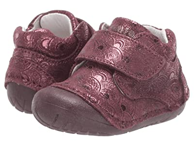 Primigi Kids PLE 44002 (Infant/Toddler) (Bordeaux) Girl