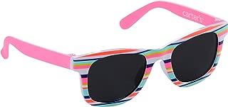 Carter ' s 女童 UVA/UVB protected 太阳镜经典设计 / 粉红色 / 条纹0–48个月婴儿 / 幼儿