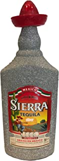 Sierra Tequila Silver 70cl 35% Vol - Bling Glitzerflasche Hologramm Silber