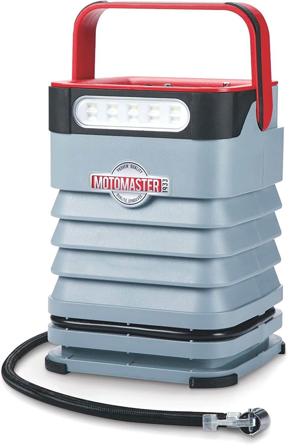 Max 90% OFF MOTOMASTER New Free Shipping Portable Air Inflator-Compressor Dual Motor 120PSI