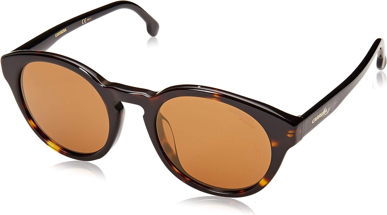 Carrera 184 F S Sunglasses - Dark San Antonio Mall Popular brand in the world Fr CA184FS-0086-K1-5122 Havana