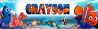 Best finding nemo personalized birthday banner Reviews