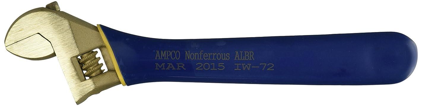 スピンエンドテーブルわずかなAmpco Safety Tools IW-72 Insulated Wrench, Adjustable, Non-Sparking, Non-Magnetic, Corrosion Resistant, 10 by Ampco Safety Tools