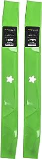 8TEN LawnRAZOR Blade Set for 42 Inch Cut Decks Craftsman Poulan AYP Husqvarna 138498 134149 138971 532138971