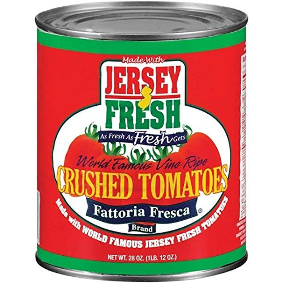 Jersey Fresh Crushed Tomatoes Fattoria 28 Ounce Fresca o Pack ! Super beauty product restock quality top! depot