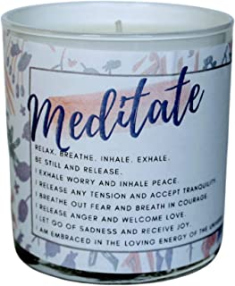 DOX + LAMB Practical Magic Collection, Love Meditation Candle, Scented Aromatherapy, Intention, Affirmation, Law of Attrac...