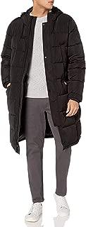 Men's Long Insulated Warm Winter Coat Parka