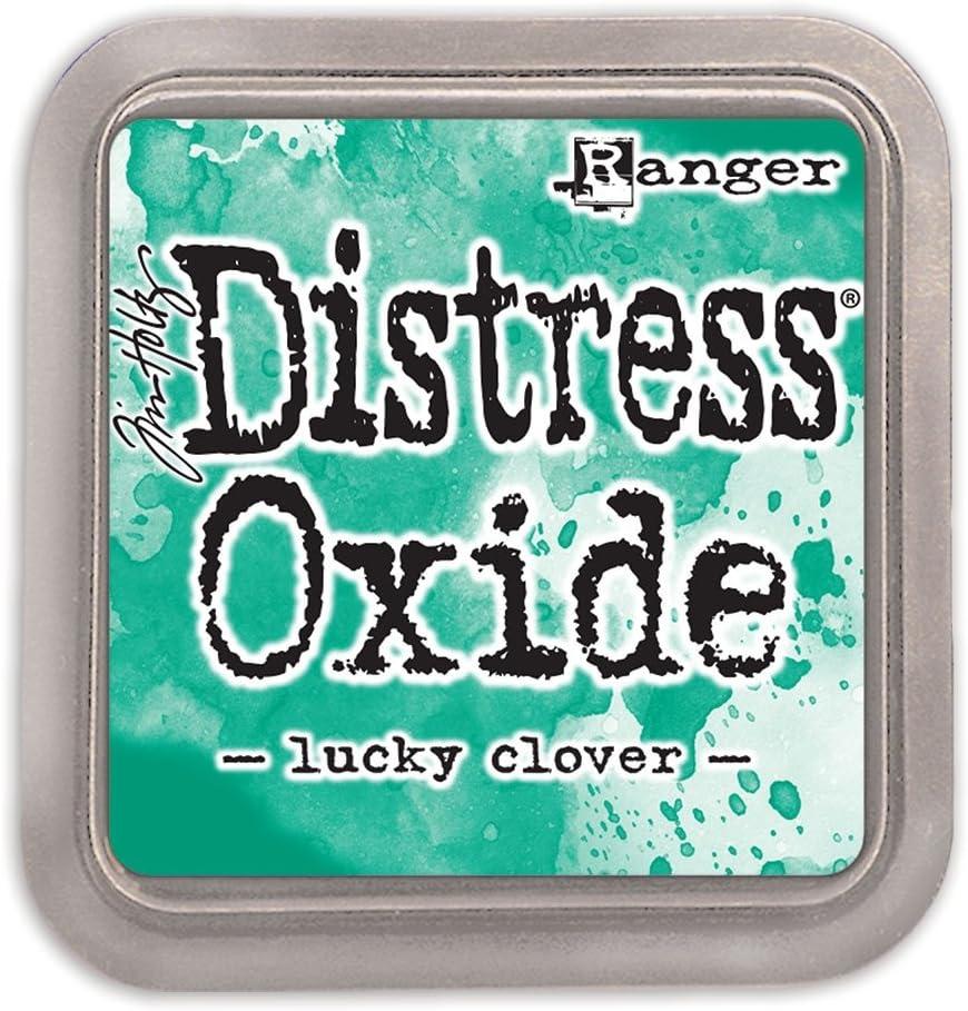 Ranger Superior Tim Holtz Distress Oxide Pad Clover Lucky Ink - Max 50% OFF