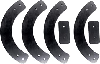 Pro-Parts 753-04472 735-04033 735-04032 Replacement Rubber Paddle Set for MTD Snowblower