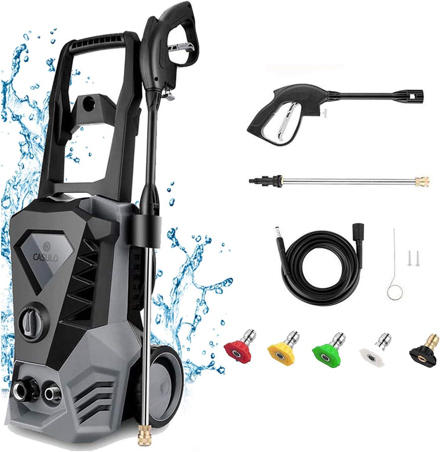 Electric Branded goods Pressure Washer 3500 PSI Sacramento Mall Max 2.6GPM Wa High 1800W Power