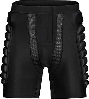 Pantalones Cortos Protección Acolchados Protector de Almohadilla de Cadera Muslo Cóccix para Esquí Snowboard Patinaje Bici ATV Moto Balonmano Rugby Hockey Deportes