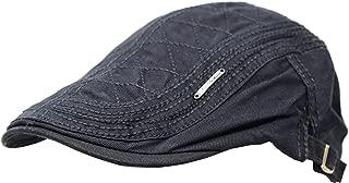 Ts 100% Cotton Men's Gatsby Cap Newsboy Ivy Hat