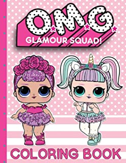 O.M.G. Glamour Squad: Coloring Book For Kids: Volume 1 (01)