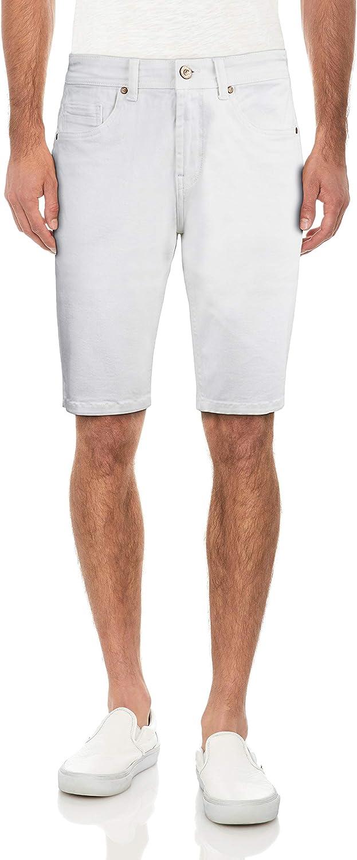 CULTURA Direct store AZURE Slim Jean Shorts Max 81% OFF for Stretch Casual Men Men's Den