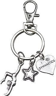 Infinity Collection Gymnastics Keychain- Gymnastics Zipper Pull, Girls Gymnastics Gift- Gymnastics Jewelry For Gymnast
