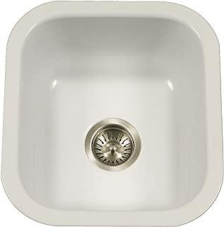 Best white porcelain bar sink Reviews
