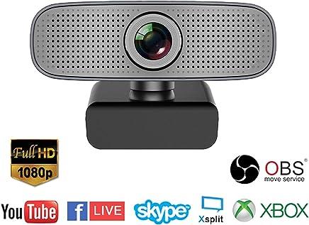 Spedal Webcam Full HD 1080p, Beauty Live Streaming Webcam, Computer Laptop Camera per OBS Xbox XSplit Skype Facebook, Compatibile per Mac OS Windows 10/8/7 - Trova i prezzi più bassi