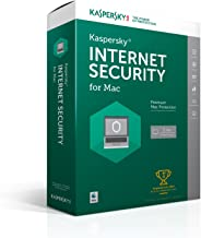 Kaspersky Internet Security for Mac 2017 | 1 Device | 1 Year | Download [Online Code]
